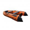 Моторная надувная лодка Альтаир ПВХ HD 380 НДНД оранж/черный