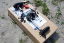 Подвесной электромотор FWT28 (28 LBS, вес 6 кг)