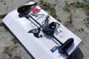 Подвесной электромотор FWT44TH/26 (44 LBS, вес 9,5 кг)